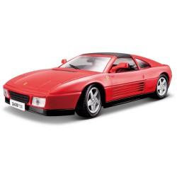 Modellini Auto Ferrari 348 TS 1989 Burago 16006R Rosso Scala 1 18