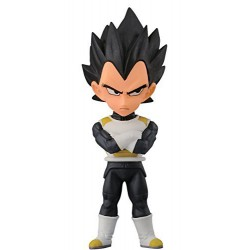 Banpresto Dragon Ball Z 2.8-Inch Vegeta Movie World Collectable Figure, Volume 3 by Banpresto