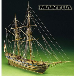 Mantua Model Sergal Race Horse Nave Kit in Legno Scala 1:47 590 mm 793 By