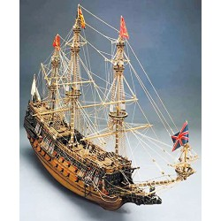 Sergal Sovrana dei Mari 1:78 Kit Galeone in Legno in Kit 1100 mm 796 Mantua Model Sovering of The Seas