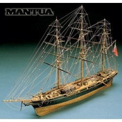Sergal Thermopylae Kit Galeone in Legno 1:124 Clipper Inglese 575 mm 791 by Mantua Model