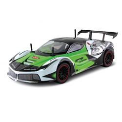 AUTO CORSA RC 1860 TELECOMANDATA DARDORACING SUPER HIGH SPEED SCALA 1:10 BATT LIPO E CHG