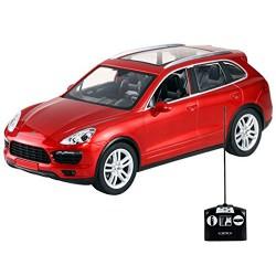 DARDO Toys 2045 - Porsche Cayenne con Batterie e Carica Batteria Inclusi, Scala 1:14