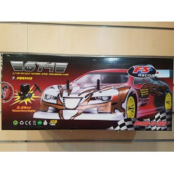 Jets FS Gt4 1:10 Scale Nitro 4Wd Auto R/c Scoppio Ready to Run Radio 2,4 GHz 2 Marce 3cc
