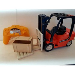 New Ray Forklift With Rack Set by New Ray Toys