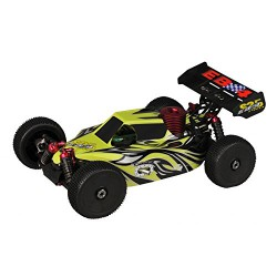 Thunder Tiger Eb4 Nitro Buggy 4wd 3,5 cm Ready To Run Bianco 2,4Ghz