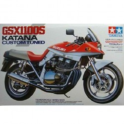 Tamiya Suzuki Gsx 1100S Katana Customed Tuned 1:12 Model Plastic Kit
