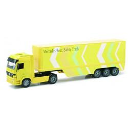 NEWRAY 12413B - Truck Mercedes-Benz Actros 1857 Container, Scala 1:32