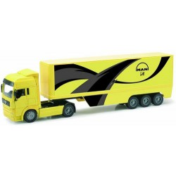 NEWRAY 12513B - Truck Man Tg 18.410A Pot Belly Container, Scala 1:32