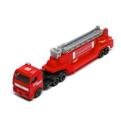 Tractor Drawn Aerial Rescue Ladder * On the Road Series * Maisto Highway Haulers 2010 Fresh Metal Die-Cast Tractor Trailer / Se