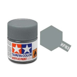 Tamiya colore acrilico opaco 10 ml XF-83 MED. SEA GRAY 2R