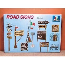 ITalieri Road Signs