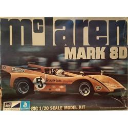 Mpc General Mills Mc Laren Mark 8D Rare Model Plastic Kit 1:20 1-3014
