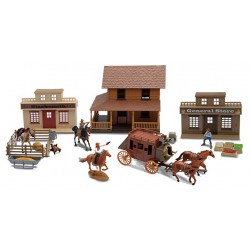 NEWRAY 38465A - Playset The Big Country Western Playset