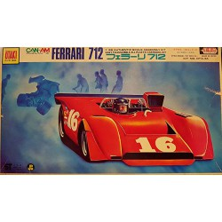 Otaki Ferrari 712 Rare Plastic Model Kit Scala 1:28 Ot3-44