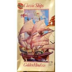 Airfix Golden Hind 1578...