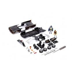 Jada Toys 30873BK - Auto in Miniatura, Colore: Nero/Rosso