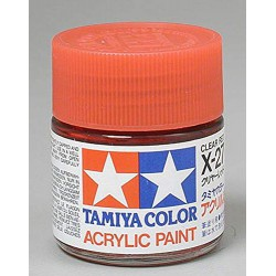 Tamiya Acrylic X27 Gloss, Clear Red TAM81027 by Tamiya