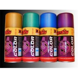 Jets Color Vernice Spray Per Carrozzerie in Policarbonato e Lexan 150 ml Nero Metallizzato 1 pz