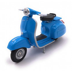Onlineworld2013 Model Car Scooter Scooter Blue Car Scale 1: 34-39 (Licenza)