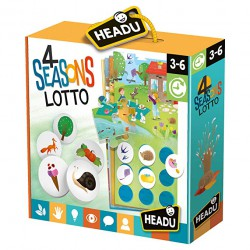 Gioco Educativo 4 Seasons Lotto Headu