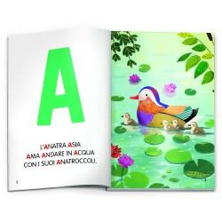 Headu GiocoLibro Alfabeto e Parole Metodo Montessori