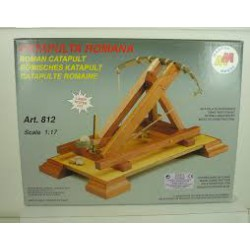 Mantua Model Catapulta Romana Kit in Legno 1:17 art.812