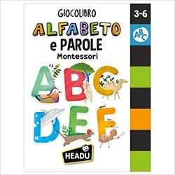 Alfabeto e parole Montessori Giocolibro Edizione illustrata con gadget