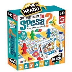 Gioco Educativo Headu Montessori Chi è più lesto a far la spesa?
