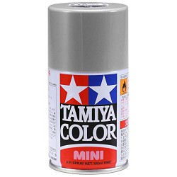 Tamiya 85017 Lacquer Spray Paint, TS-17 Gloss Aluminum - 100ml Spray Can
