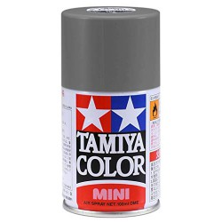 Tamiya 85082 Spray Lacquer TS-82 Black Rubber - 100ml Spray Can