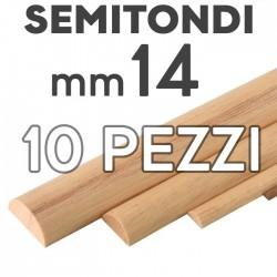 Listelli Semitondi mm. 14  confezione 10 pezzi