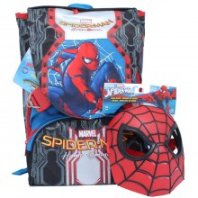 Zaino Spiderman Uomo Ragno Sdoppiabile con Gadget