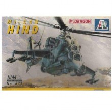 Kit Modellino Italeri Dragon IT875 MI-24G HIND Kit Militari Scala 1 144