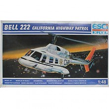Esci Kit Elicottero Bell 222 California Highway Patrol Helicopter Kit Scala 1 48 cod 4098