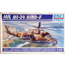 ESCI Kit Elicottero Mil Mi-24 Hind-F Russian Helicopter Scala 1 72 Art 9067