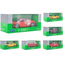 Die Cast Car License 6Asst 38503 Multicolore Globo Scala 1 24