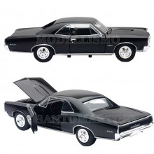 Modellini Auto Pontiac GTO 1966 Black Nero Scala 1 25 New Ray 71853 B