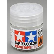 Base Colore Tamiya Acrilico Mini X-21 Flat