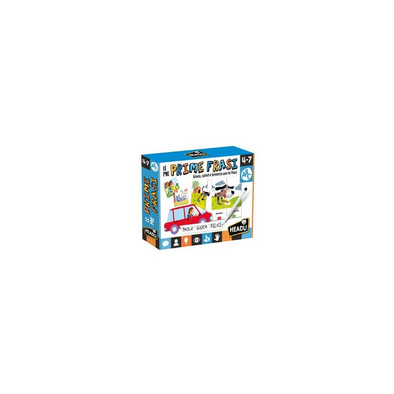 Gioco Educativo Le Mie Prime Frasi Headu It25381