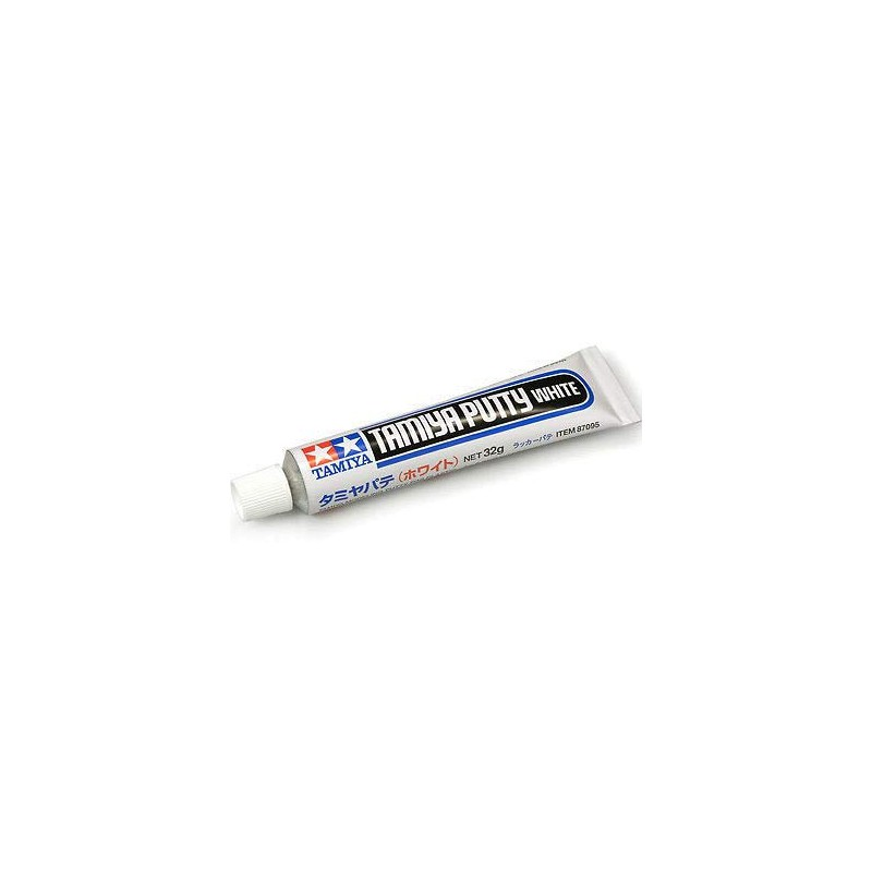 Stucco bianco 32 g per modellini in plastica Gms Hobby Tool Parts Tamiya 87095