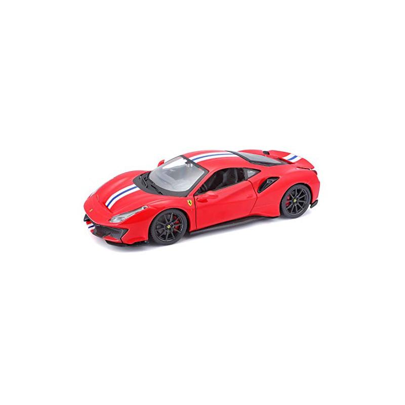 Modellino Auto Auto Ferrari 488 Pista Burago Scala 1 24