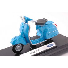 MODELLINO mOTO VESPA 150 CC 1970 LIGHT BLUE SCALA 1 18  Welly