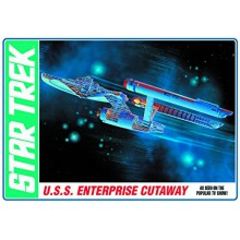 Astronave Star Trek TOS Kit Modellismo Plastico Scala 1 537 Enterprise