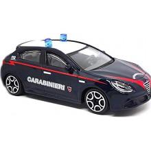 Modellino Auto Bburago Giulietta Carabinieri Scala 1 43 Die Cast