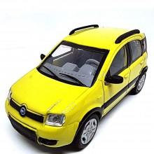 Modellino Auto NewRay Fiat Panda 4x4 2006 Colore Giallo Scala 1 43