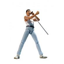 BANDAI - Figurine Queen - Freddie Mercury Live Aid Sh Figuarts 15cm - 4573102587275